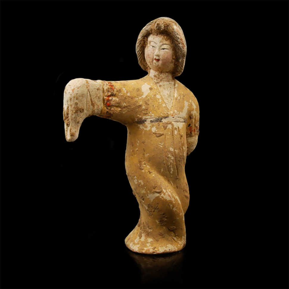 Rare Tang Dynasty Court Entertainers Group
