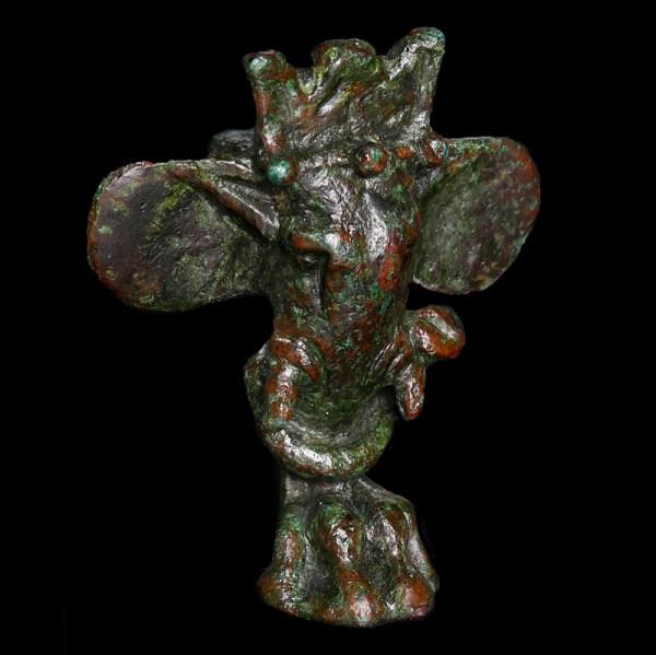 Roman Bronze Elephant Casket Leg