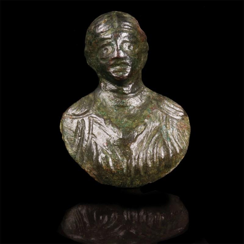 Small Roman Bronze Applique