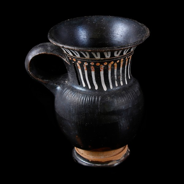 Blackware Terracotta Gnathian Thistle Mug