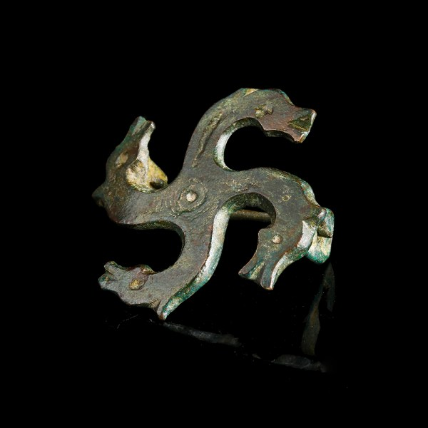 Romano-Celtic Tetraskelion Brooch
