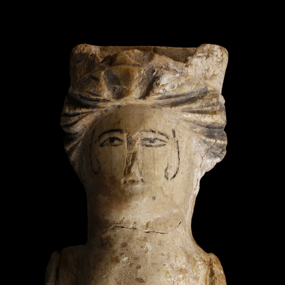 Roman Doll Carved In Bone With Pigment St James Ancient Art