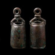 Pair of Roman Bronze Bells