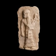 Sumerian Plaque of a Deity