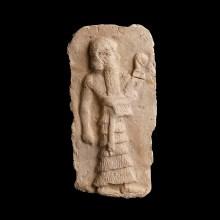 Sumerian Plaque of a Deity