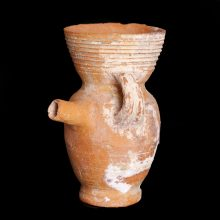 Nabataean Terracotta Perfume Bottle