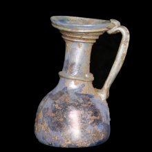 Roman Glass Jug with Iridescence