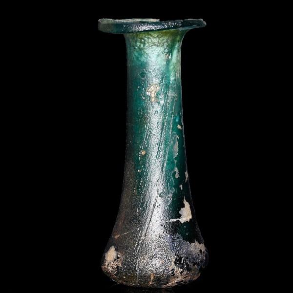 Roman Emerald Green Unguentarium