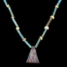 Egyptian Steatite Scarab Dedicated to Thutmose III