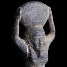 Egyptian Hematite Amulet of Shu