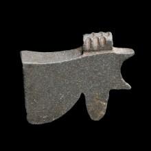 Egyptian Black Hardstone Eye of Horus Amulet