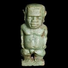 Egyptian Green Faience Ptaichos Amulet