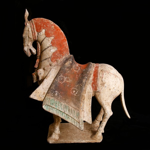 Northern Wei Dynasty Caparisoned Horse