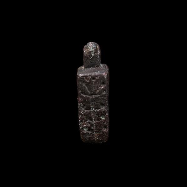 Urartian Iron-Age Bronze Stamp Seal