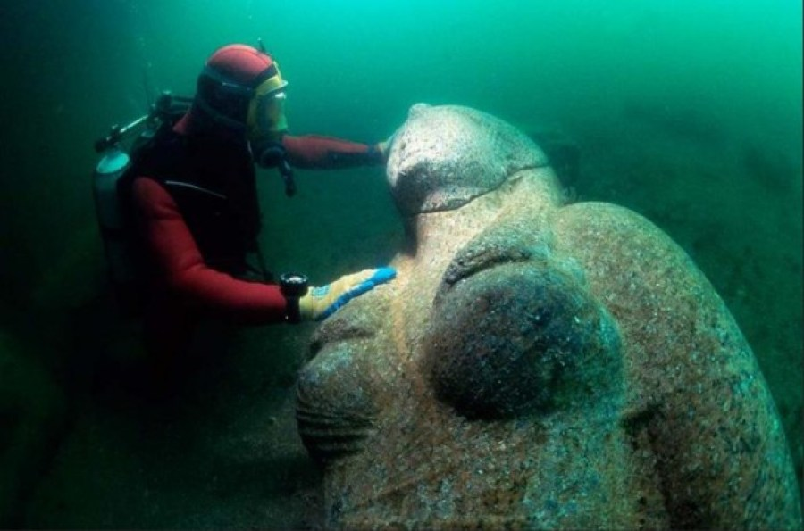 Secrets of the sunken city: An ancient metropolis under the Sea of Egypt
