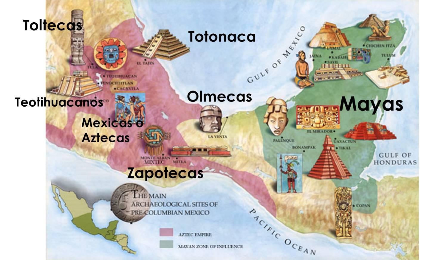 Extension Civilizaciones Mesoamerica
