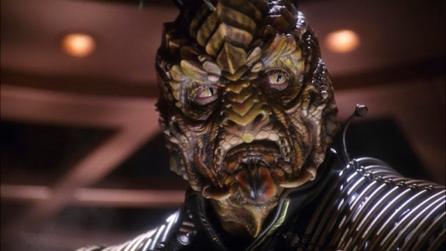 Reptilian Xindi - Shape-shifting Royal