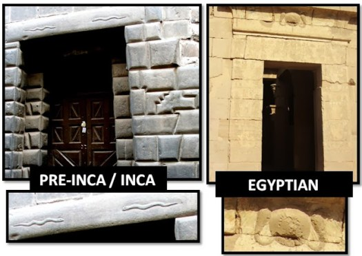 Comparison between Inca and Egyptian Masonry