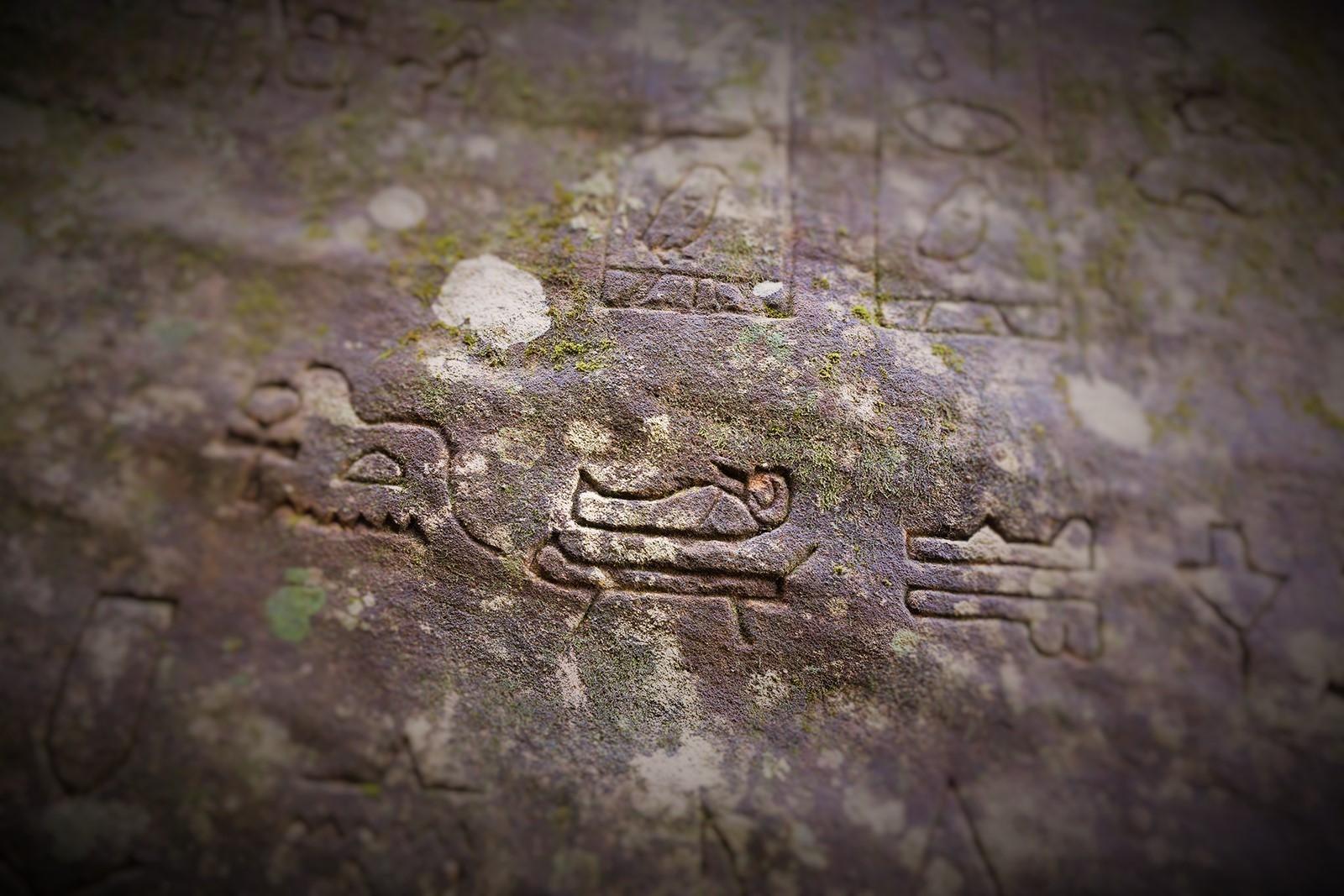 Gosford Glyphs shattering mainstream history