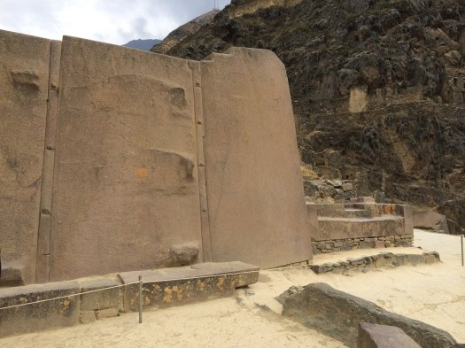 These are some of the largest stones at Ollantaytambo. Image by: Barry Everett