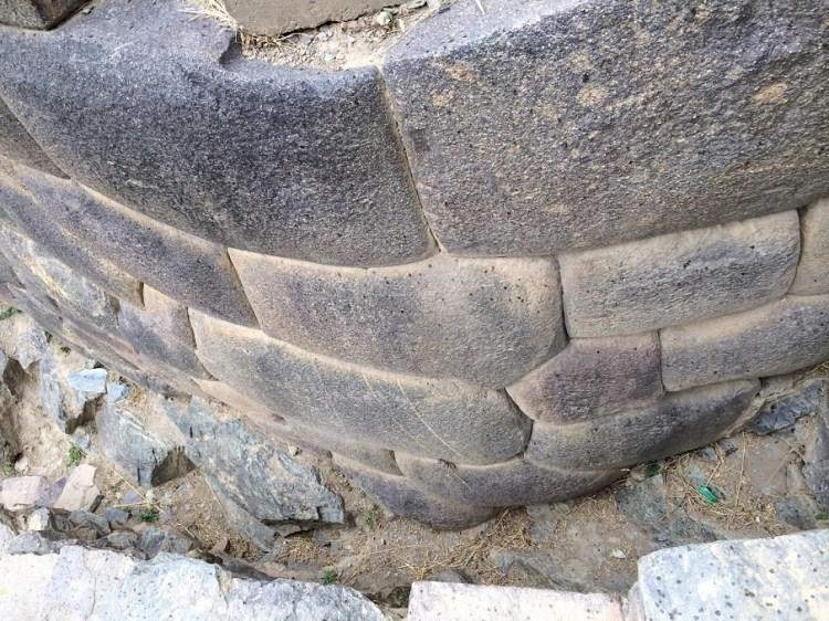 Perfect stones at Ollantaytambo.