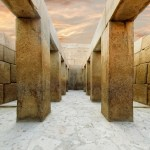 Impossible ancient engineering? Meet the 'bent' stones of Khafre's Valley Temple