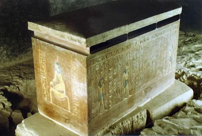 The tomb of Amenhotep III