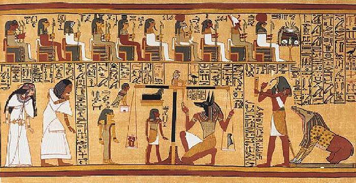 Depiction of the Weighing of the Heart
