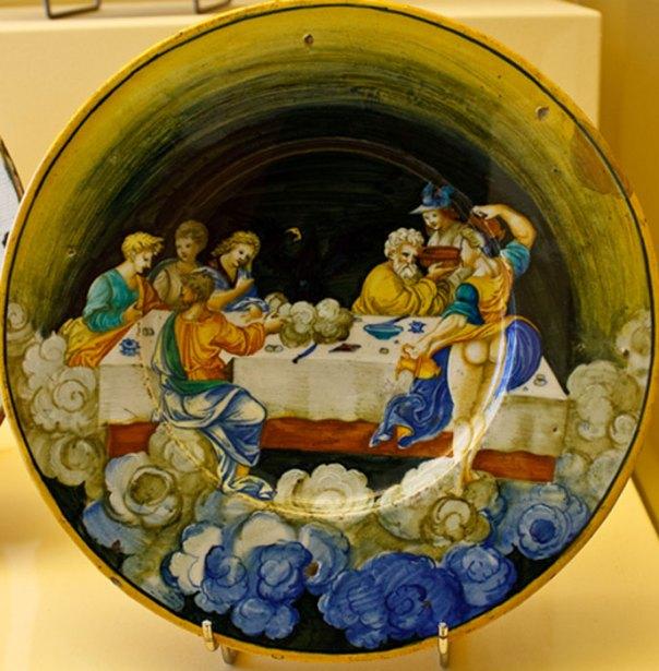 Banquete de los dioses en el Olimpo (1530). (CC BY-SA 2.0)