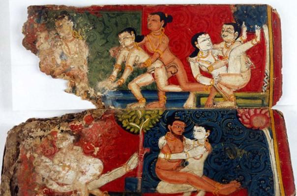 Colección Oriental, manuscrito erótico nepalí