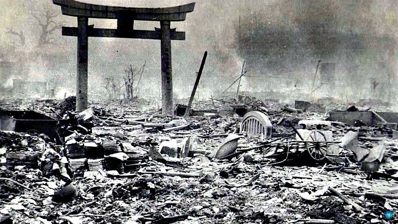 Hiroshima tras la caída de la primera bomba atómica. (Fotografía: La Gran Época)