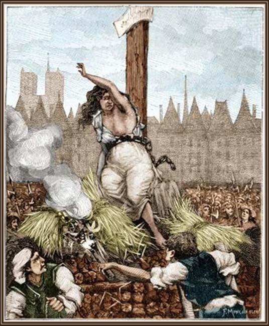 'La ejecución de Catherine Deshayes.' (The Unknown History of Misandry)