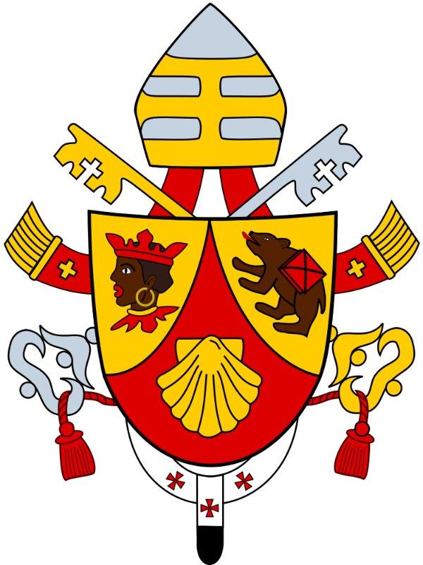 Emblema del papa Benedicto XVI. (Public Domain)