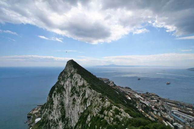 Estrecho de Gibraltar (Dominio público)