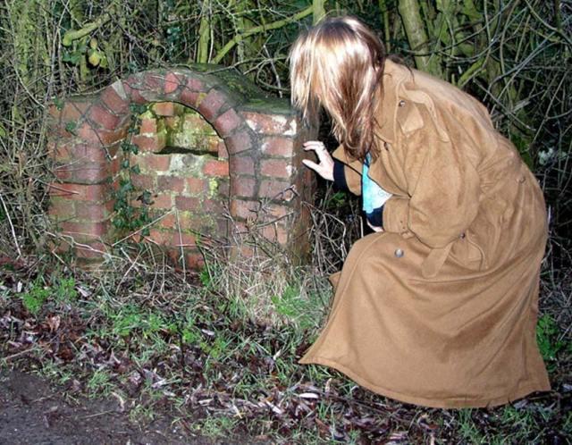 La fuente para beber de Chapel Green. (Fotografía © Graham Phillips)