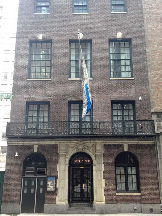 El códice fue expuesto por primera vez en el Grolier Club de Nueva York, de donde tomó su nombre. (CC BY-SA 3.0)