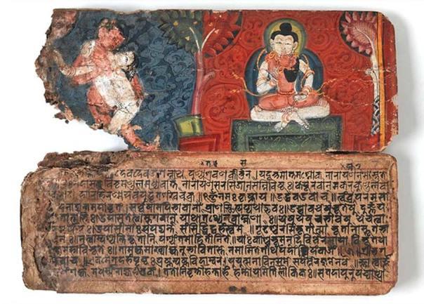 Kamasutra vatsyayana, Colección Oriental (CC by SA 4.0 / Wellcome Trust)