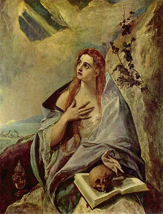 'Magdalena penitente', óleo de El Greco. (Public Domain)