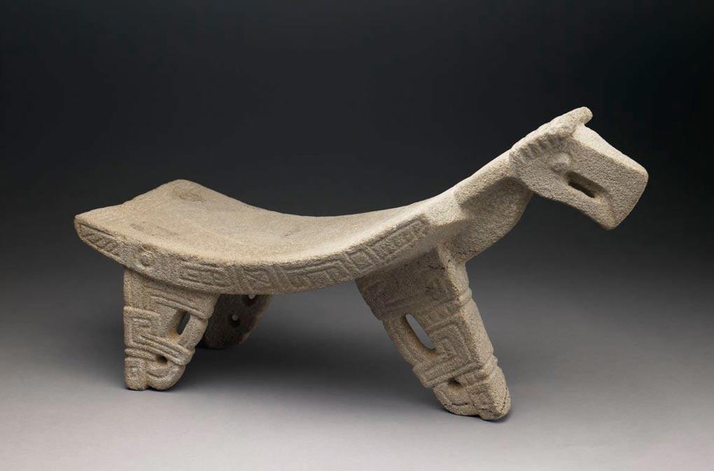 Ejemplo de un metate ceremonial. Este en concreto procede de la cultura Nicoya de Costa Rica, años 300 d. C. – 700 d. C. (Public Domain)