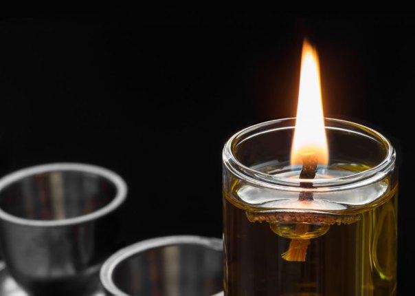 El 'Milagro del aceite' de la Hannukah, simbolizado por la menorá.