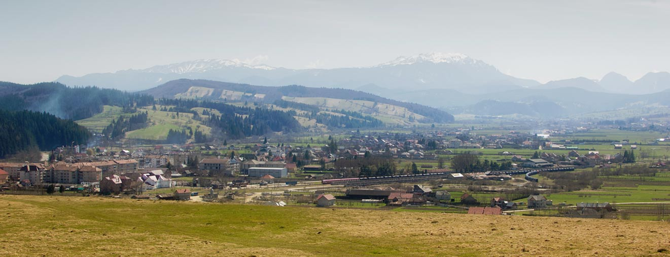Vista de los Montes Buzaului. (Public Domain)