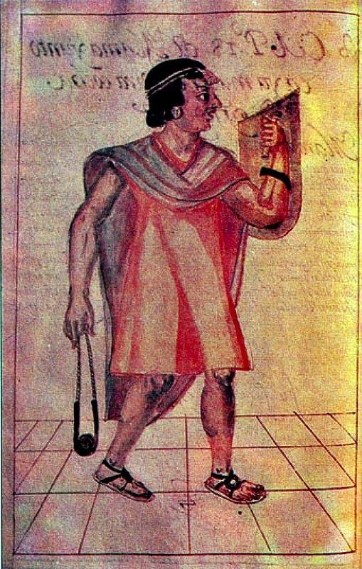 Pachacútec, emperador inca que reinó entre los años 1438 y 1470. Ilustración de la Crónica de Martín de Murúa, finales del siglo XVI. (Public Domain)