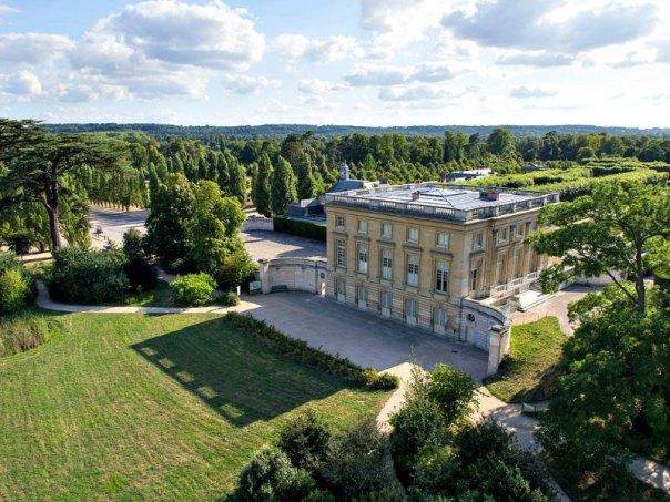 """Vista aérea del """"Petit Trianon"""" del palacio de Versalles, Francia. (ToucanWings/CC BY-SA 3.0)"""