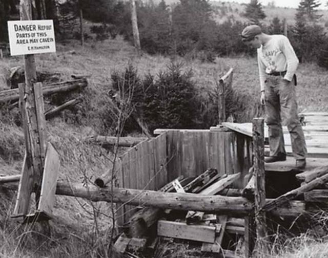 'Pozo del Dinero' de Oak Island, Nueva Escocia, Canadá, en 1947. (Public Domain)