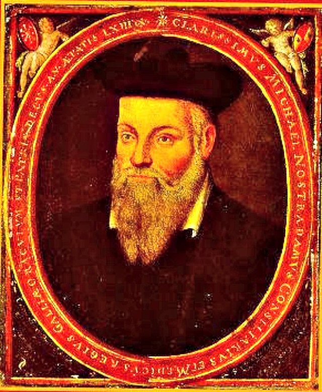 Retrato de Nostradamus pintado por su hijo César de Nôtre-Dame (c. 1614). (Public Domain)