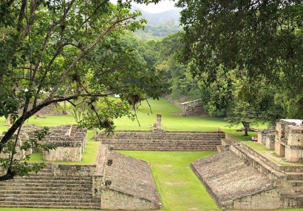 Cancha de Juego de Pelota de Copán, Honduras. (Adalberto Hernandez Vega/CC BY-SA 2.0)