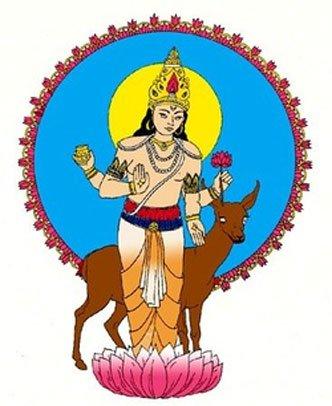 Soma, dios hindú. (vedicgoddess)