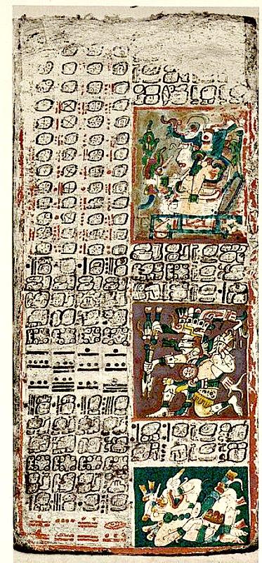 Página 49 del Códice de Dresde maya (Tablas de Venus). (Public Domain)