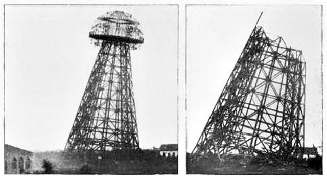 Fotografías de la enigmática Torre Tesla, conocida también como Torre Wardenclyffe. (Código oculto).