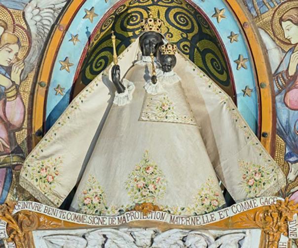 Virgen Negra de Toulouse. Basílica de Notre-Dame de la Daurade. (CC BY-SA 4.0)